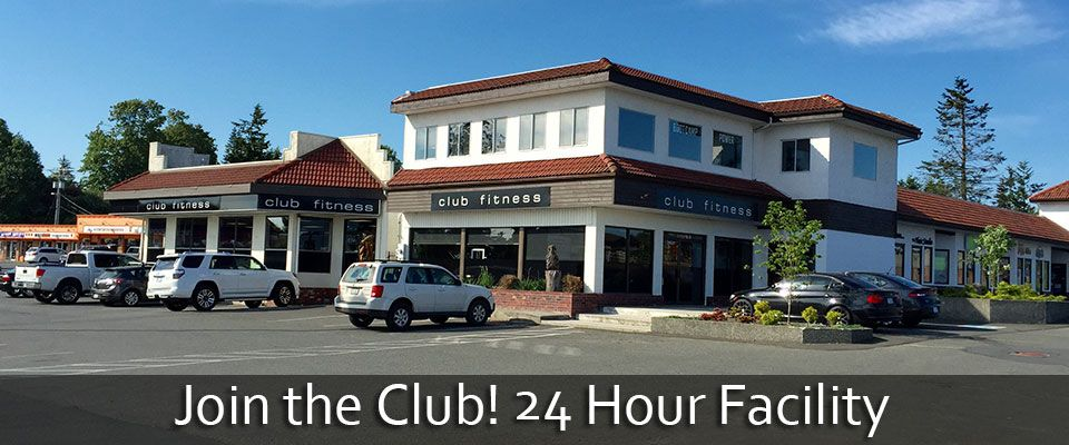 Join the Club! 24 Hour Facility -- Club Fitness