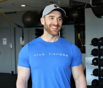 Colt Sainas Personal Trainer Club Fitness Campbell River